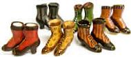 Six Pairs of Womens Doll Shoes by Heidi Ott (XZ775)