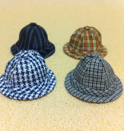 Set of 4 Dollhouse Dolls  Hats (XZ784)