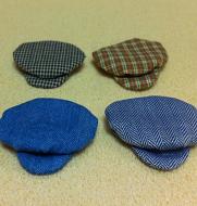 Set of 4 Dollhouse Dolls Caps for Teenager Dolls (XZ787)