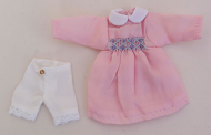 Teenagers Pink Dress, Dolls House Miniature (XZ820)
