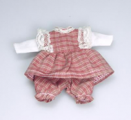 Toddler Girl Outfit, Dolls House Miniature (XZ878)