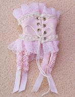 Corset- Rose, Dolls House Miniature (XZ904)