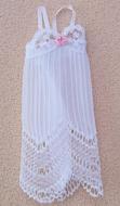 White Negligee, Dolls House Miniature (XZ907)