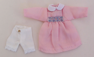 Child's Pink Dress, Dolls House Miniature (XZ946)