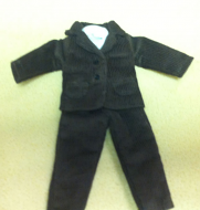 Mans Suit for Shorter Men, Dolls House Miniature (XZ972)