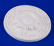 Resin Dolls House Ceiling Rose (Plain Finish) (YCK912)
