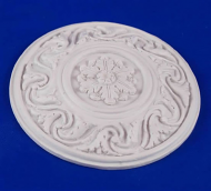 Resin Dolls House Ceiling Rose (Plain Finish) (YCK920)