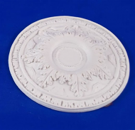 Resin Dolls House Ceiling Rose (Plain Finish) (YCK921)