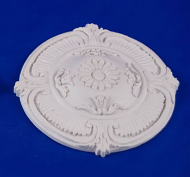 Resin Dolls House Ceiling Rose (Plain Finish) (YCK922)