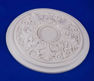 Resin Dolls House Ceiling Rose (Plain Finish) (YCK923)
