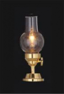 Dolls House Hurricane Lamp with Clear Chimney (YL1001)