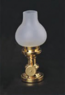 Dolls House Oil Lamp with Frosted Chimney (YL1005)