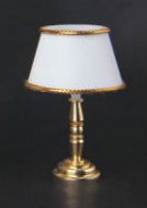 Dolls House Gold Base Table Lamp (YL1024)