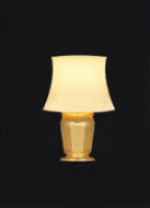 Dolls House Brass Table Lamp (YL1033)