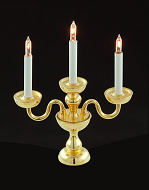 Dolls House Triple Candelabra (YL1086)