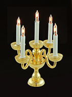 Dolls House Five Candle Candelabra (YL1087)