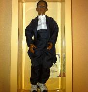 Heidi Ott Male Doll in a black suit (X107)