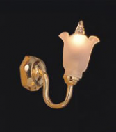 Dolls House Wall Light with Frosted Tulip Shade (YL2013)