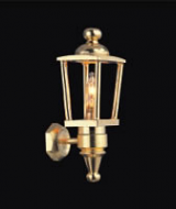 Dolls House Brass Coach Lamp (YL2022)
