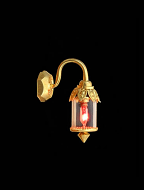 Dolls House Ornate Coach Lamp (YL2050)