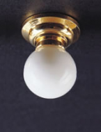 Dolls House  Ceiling Light with Removable White Globe (YL4006)
