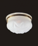 Dolls House Ceiling Light with Removable Frosted Shade (YL4010)