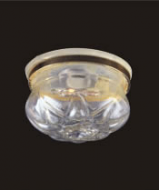 Dolls House Ceiling Light with Removable Clear Shade (YL4011)