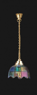 Dolls House Coloured Tiffany Hanging Light (YL5003)