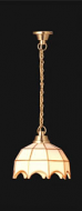 Dolls House White Tiffany Hanging Light (YL5004)