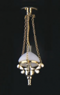 Dolls House Victorian Chandelier (YL5009)