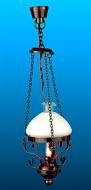 Dolls House Americana Swag Lantern (YL5012-1)