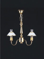 Dolls House Chandelier (2-Up-Arm) (YL6005)