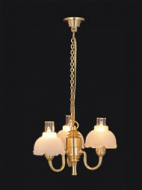 Dolls House Chandelier (3-Up-Arm) (YL6017)