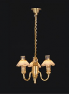Dolls House Chandelier (3-Up-Arm) (YL6018)