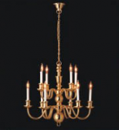Dolls House Chandelier (10 Arm) (YL8003)