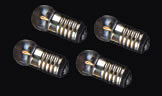 Dolls House 4 Round Bulbs  12V 50mA (YL9004)