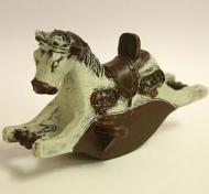 Dolls House Miniature Rocking Horse (XY110)