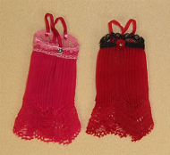 Red Negligee, Dolls House Miniature (XZ915)