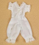 White One Piece Underwear, Dolls House Miniature (XZ916)