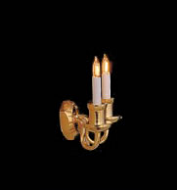 Dolls House Double Wall Lamp (YL8006)